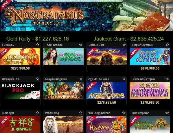 Casino Tropez Games