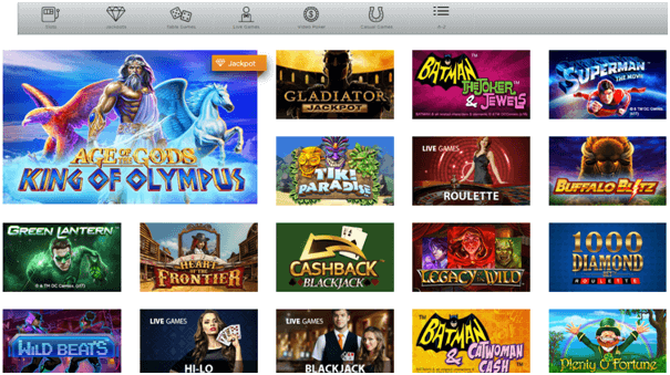 Casino.com games