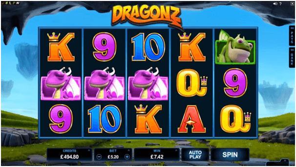 Dragonz Symbols