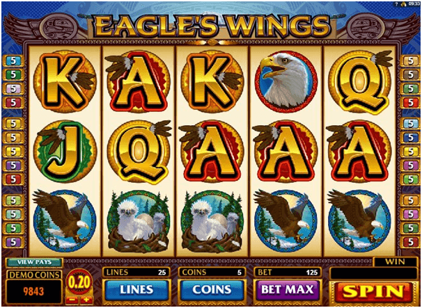 Eagle's Wings symbols