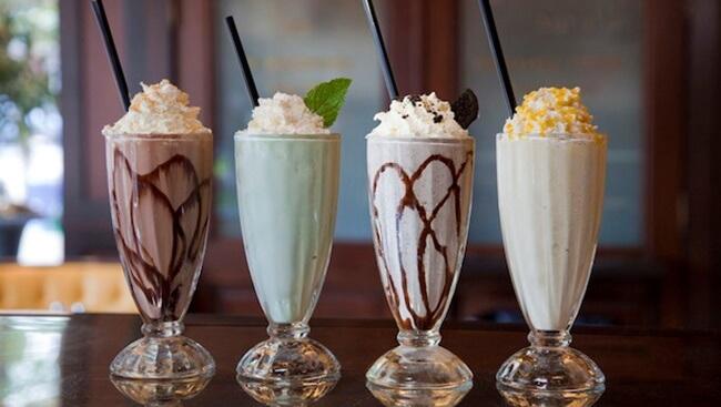 Enjoy Milkshake at Five Boroughs