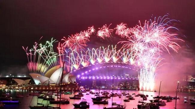 Fireworks at Christchurch