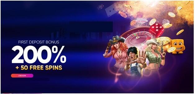 Free spins match deposit