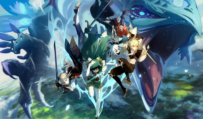 Genshin Impact-8 Best Free-to-play Games