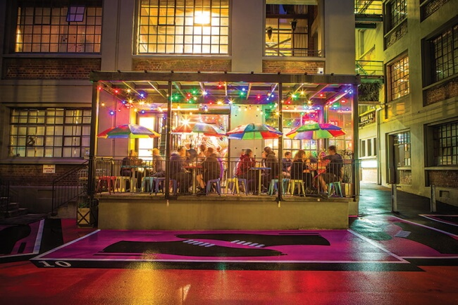 Hannahs Laneway - 8 exotic places to eat explore and enjoy in wellington