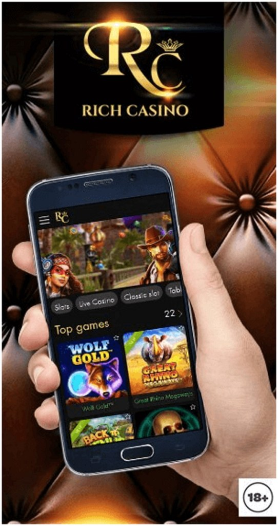 How to get started at Rich Casino