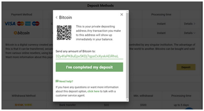 How to make a deposit with Bitcoin to play at online casinos NZ