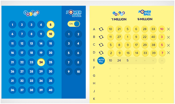 Hpw to play Powerball and Strike Lotto NZ- Choose your own numbers
