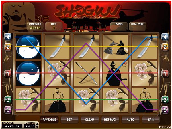 How to play Shogun Pokies