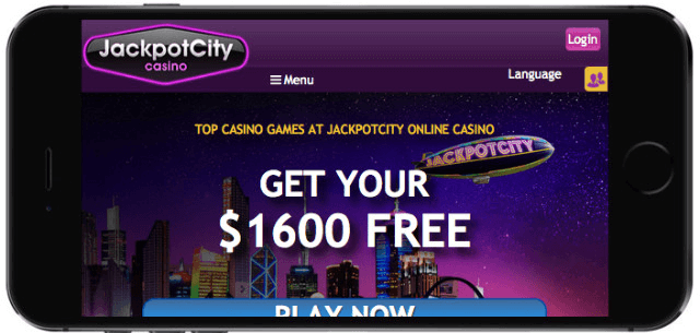 Jackpot city NZ- Mobile