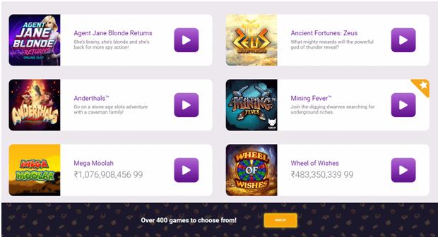 Jackpot city casino NZ games to play