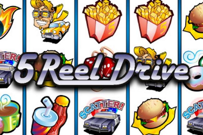 Jackpot in 5 Reel drive mobile pokies