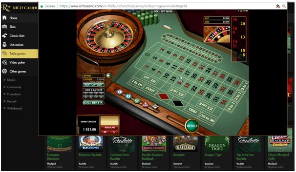 Live roulette NZD
