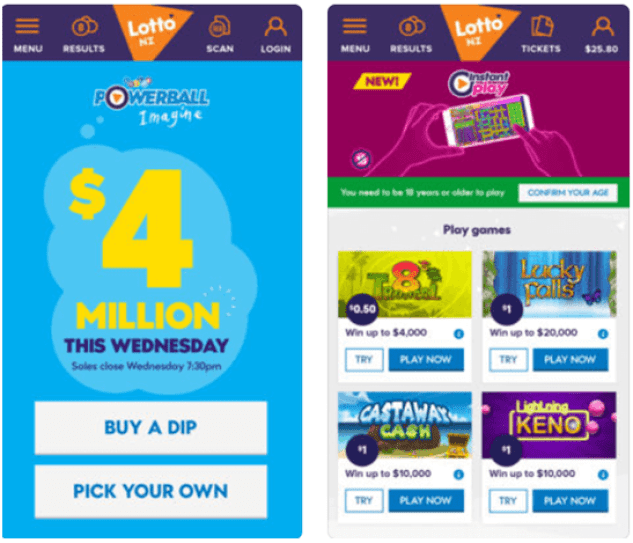How to play Instant lotto games at Lotto NZ and win