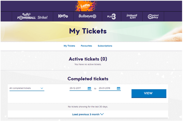 How to buy ticket for Instant lotto games NZ with mobile