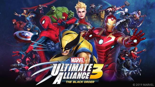 MarvelUltimate Alliance 3 The Black Order (Nintendo Switch)