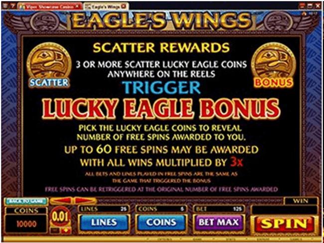 Maximum Payout - Eagles Wings