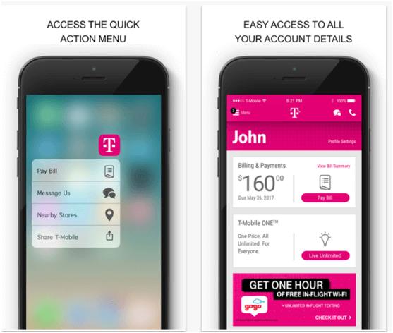T Mobile App