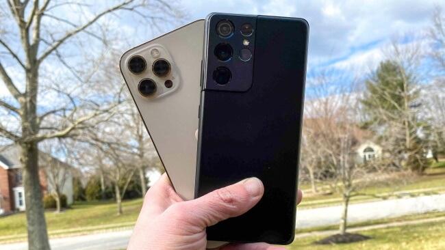 Performance - Galaxy S21 Ultra vs. iPhone 12 Pro Max