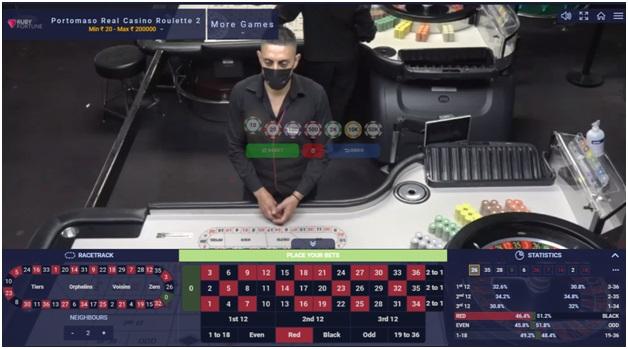 Portomaso Roulette online