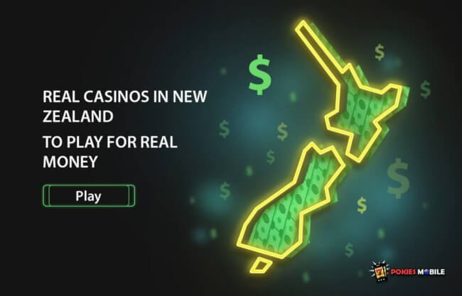 Real Casinos in New Zealand to Play for Real Money
