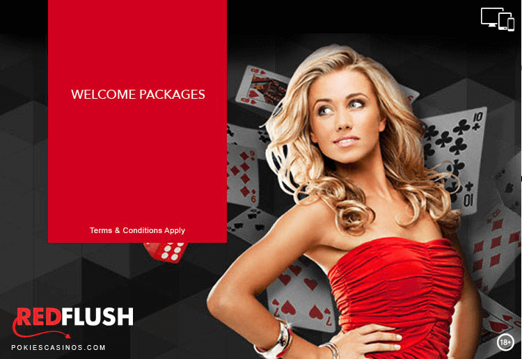 Red Flush Casino Welcome Package