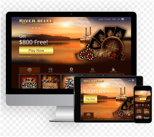 River Belle Casino NZ mobile