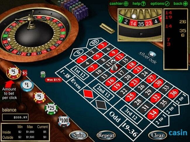 Roulette $5 online tables-Bets online