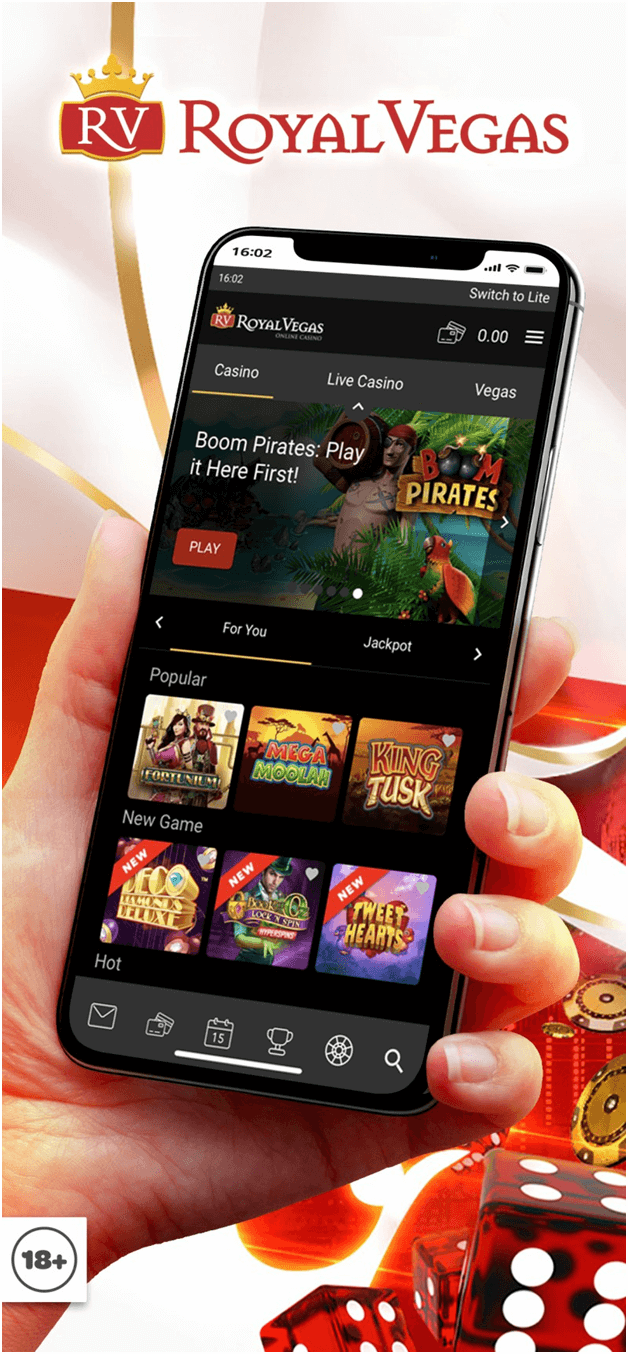 Royal Vegas Mobile Casino NZ
