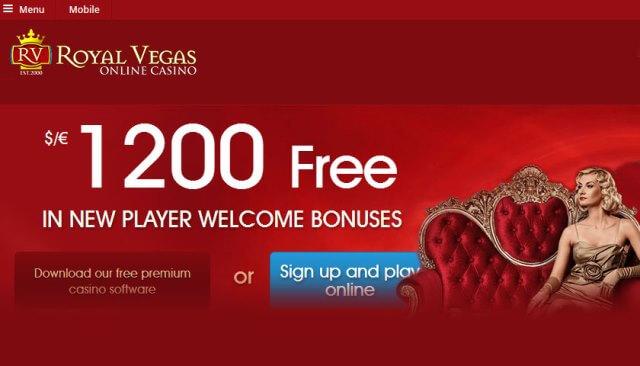 Paysafe card online casino- Royal Vegas
