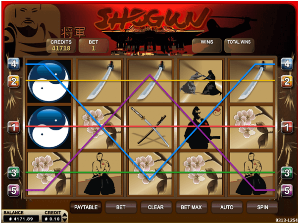 play shogun pokies online free