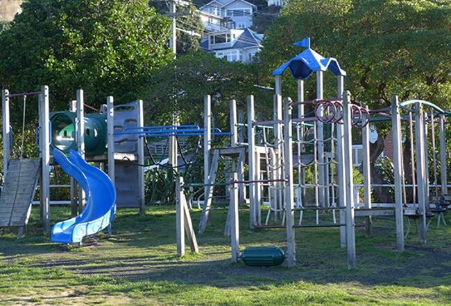 Shorland Park Playground, Island Bay