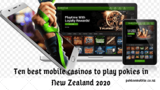 Ten best mobile casinos to play pokies in New Zealand 2020