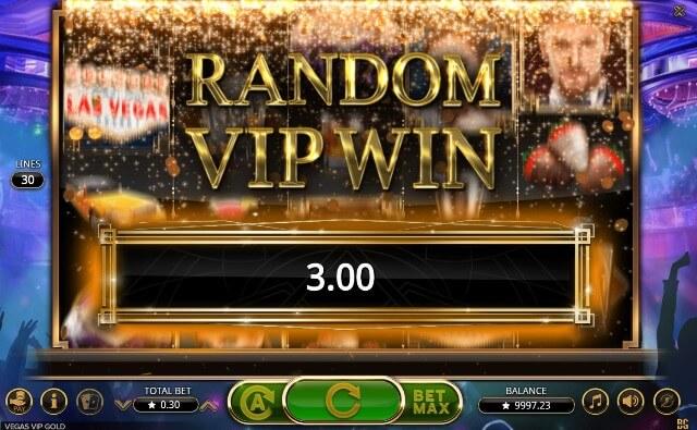 VIP free spins