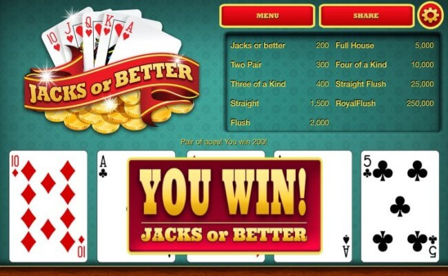 Video Poker Offers Better Chance to Win -  5 reasons you should play video poker more often.