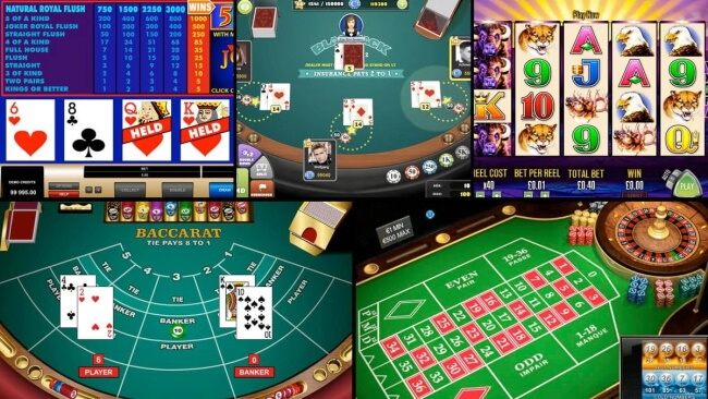 What Types of Poker Games Can I Play Online