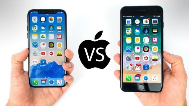 iPhone 8 vs. iPhone X