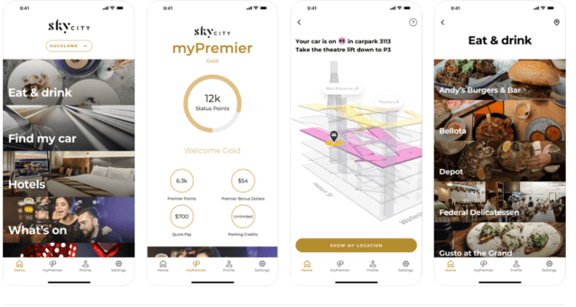 premier rewards skycity app