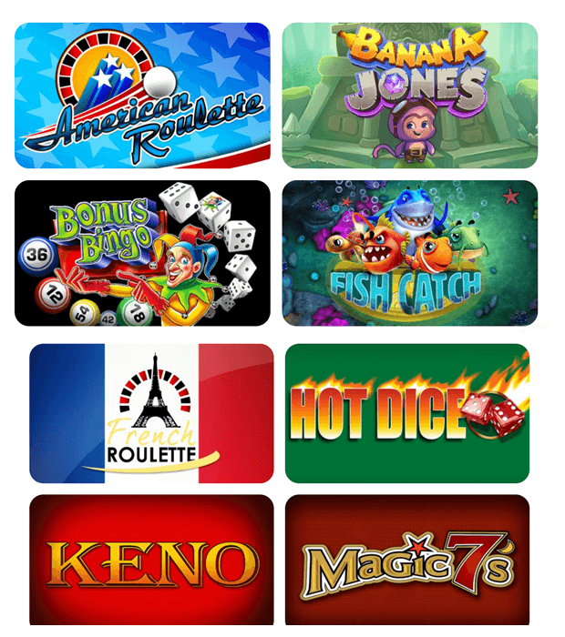 specialty games offered at mobile casinos