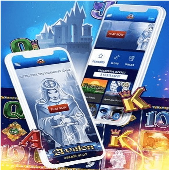 Avalon pokies can be played with your mobile