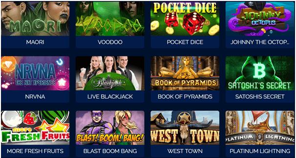 Bitcoin Pokies games