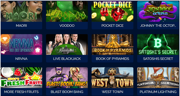Bitcoin Pokies games