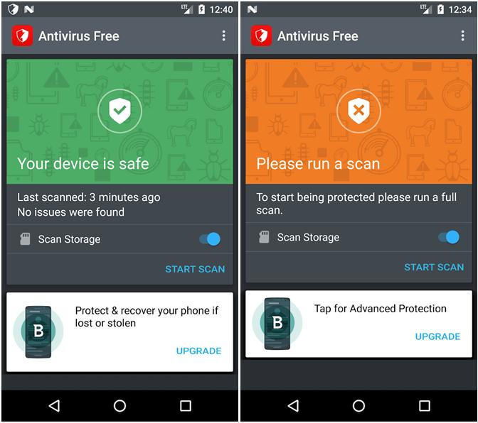 Bitdefender app