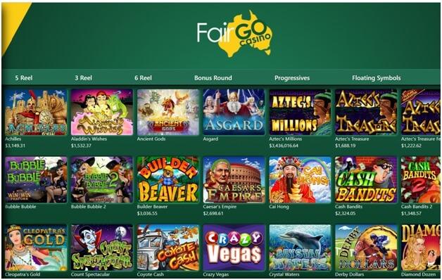 Casino Filters in Fair Go Casino