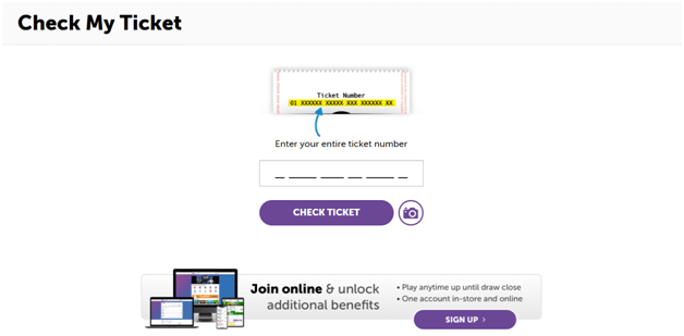 How to check Powerball results with your mobile browser without any download