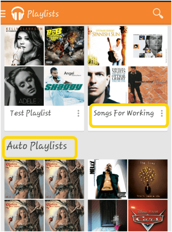 Create Music Playlist
