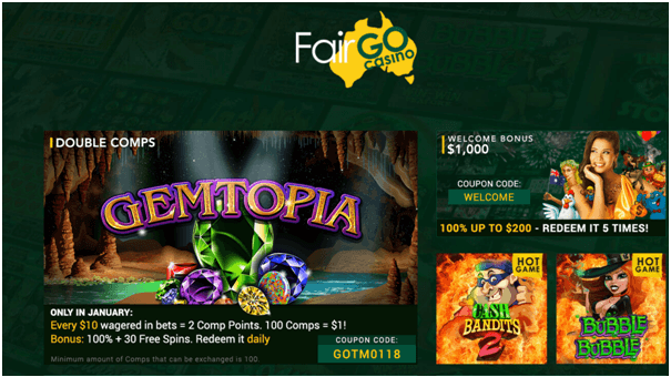 Fair Go- Australian casino