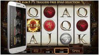 Game Of Throne Bonus