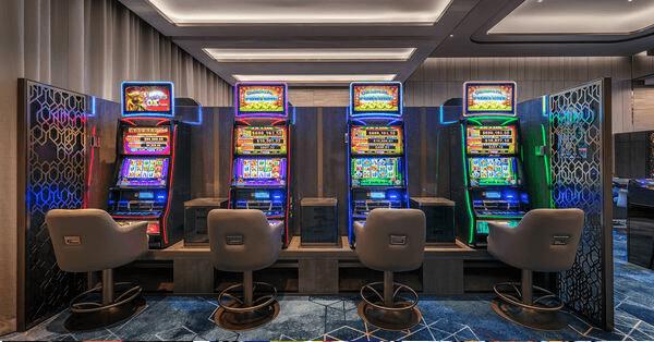 Gaming Machines at Treasury Casino