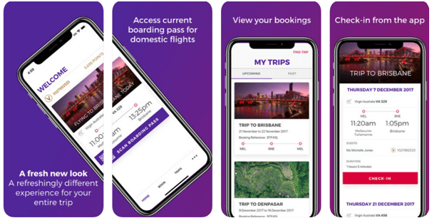 How to check in at Australia airport with mobile